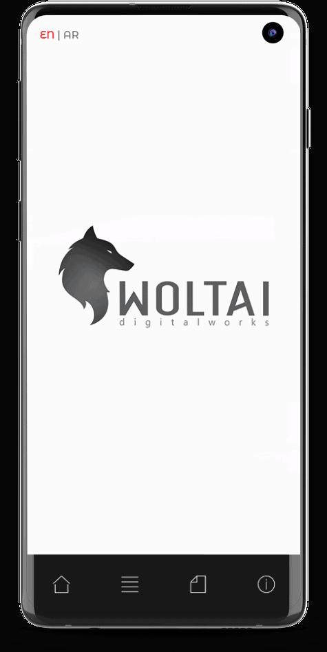 imagen web versión móvil de woltai